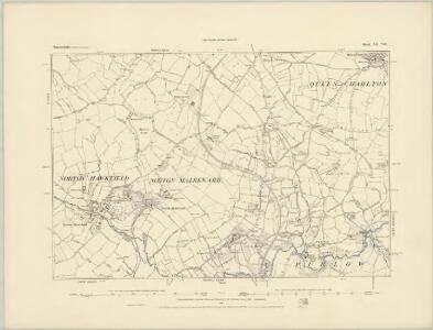 Somerset XII.NW - OS Six-Inch Map