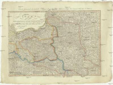 Polen im Herzogthum Warschau und unter Oestreich und Russland getheilt