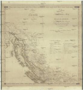 Charte des nordwestlichen Theil von Dalmatien