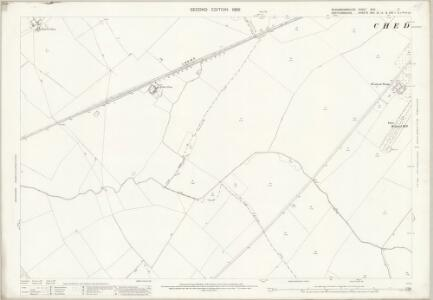 Buckinghamshire XXIX.7 (includes: Cheddington; Marsworth; Tring Rural; Wing) - 25 Inch Map