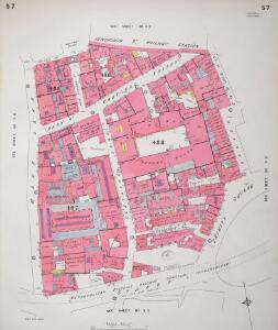 Insurance Plan of City of London Vol. III: sheet 57