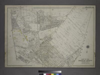 [Plate 42: Bounded by Central Avenue, (Springfield, Laurelton, Rosedale Terrace) Springfield Road, (Springfield Park, High View Park, Higbie Park), Higbie Avenue, Farmers Avenue, Merrick Plank Road, Locust Avenue and (Locust Manor, Cedar Manor) Smith Ave