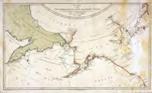 Karte von den n. w. amerikanischen und n. oe. asiatischen Küsten