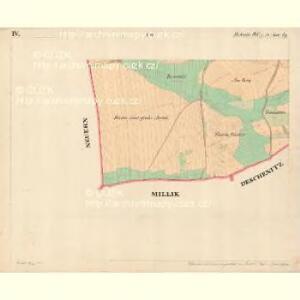 Holletitz - c1937-1-004 - Kaiserpflichtexemplar der Landkarten des stabilen Katasters