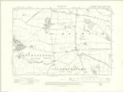 Yorkshire CXCV.NE - OS Six-Inch Map