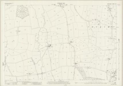 Derbyshire LIII.2 (includes: Barton Blount; Church Broughton; Foston and Scropton; Sudbury) - 25 Inch Map