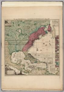 America Septentrionalis. A Map of the British Empire in America.