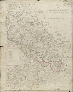 Charte von Schlesien und Maehren, Zum Gebrauche der Oesterreichischen Schulen entworfen