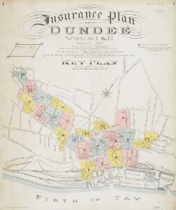 Insurance Plan of Dundee Vol. I & II: Key Plan