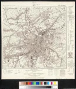 Meßtischblatt 5143 : Chemnitz, 1943