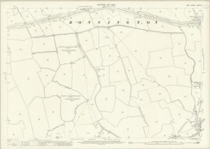 Kent LXXIII.15 (includes: Bilsington; Bonnington; Newchurch) - 25 Inch Map