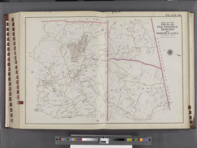 Westchester, V. 2, Double Page Plate No. 40 [Map bounded by Part of the Towns of Poundridge, Bedford, North Castle]