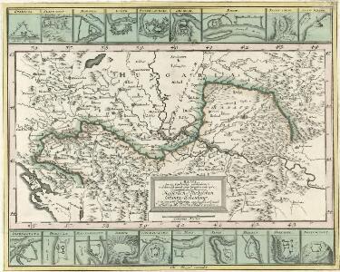 Mappa der zu Carlovitz geschlossenen und hernach durch zwey gevollmächtigte Commissarios vollzogenen Kaiserlich-Türkischen Grantz-Schneidung