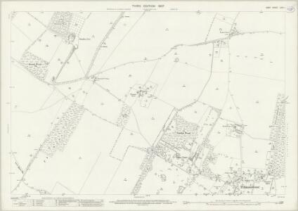 Kent LVIII.1 (includes: Eastry; Nonington; Tilmanstone) - 25 Inch Map