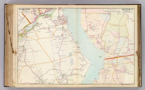 21 Ulster, Dutchess counties.
