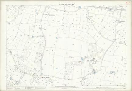 Kent LXII.3 (includes: Marden; Staplehurst) - 25 Inch Map