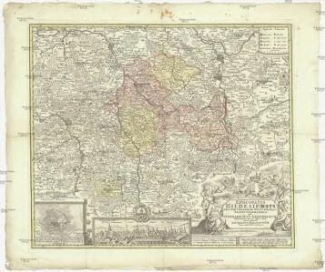 Episcopatus Hildesiensis nec non vicinorum statuum delineatio geographica