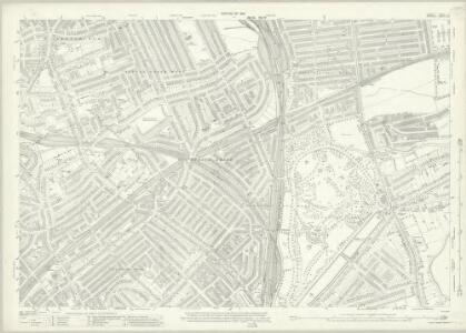 London (1915- Numbered sheets) II.10 (includes: Hornsey St Mary; Islington; Stoke Newington; Tottenham) - 25 Inch Map