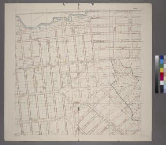 Planning Grid of the Office of the Topographical Bureau of Bronx.