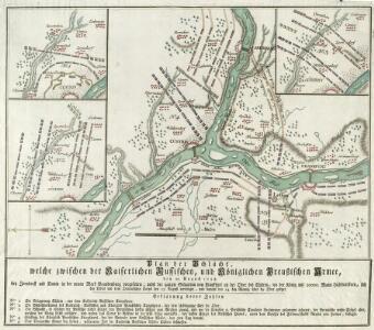 Plan der Schlacht welche zwischen der Kaiserlichen Russischen, und Königlichen Preußischen Armee, den 25. August 1758