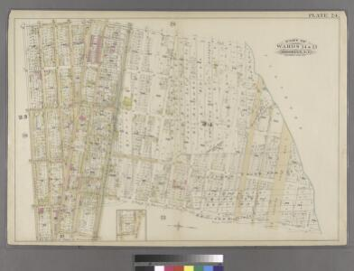 Plate 24: Part of Ward 24 & 25. Brooklyn, N.Y.