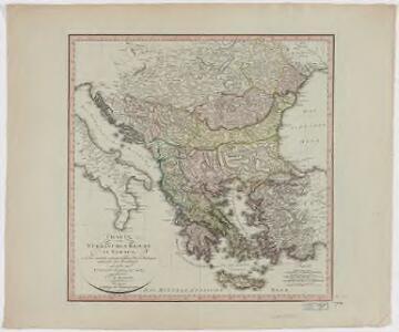 Charte vom Türkischen Reiche in Europa : nach den neuesten astronomischen Ortsbestim[m]ungen entworfen und berichtiget auf der Sternwarte Seeberg bey Gotha
