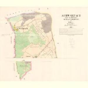 Schwarzach - c7813-1-001 - Kaiserpflichtexemplar der Landkarten des stabilen Katasters