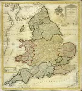 Regni Angliae et principatus Cambriae tabula nova