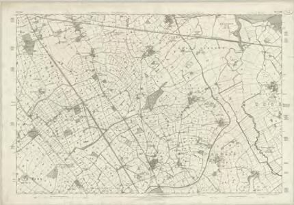 Cheshire XXIX - OS Six-Inch Map