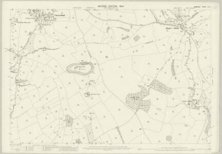 Somerset LIV.2 (includes: Batcombe; Cranmore; Evercreech) - 25 Inch Map