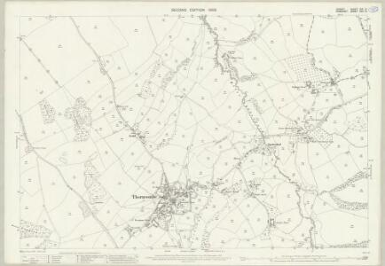 Dorset XIX.14 (includes: Broadwindsor; Thorncombe; Wayford) - 25 Inch Map