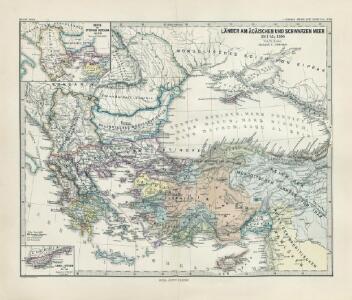 Länder am Ägäischen und Schwarzen Meer 1311 bis 1390