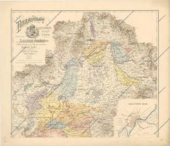 A Tisavölgy vizszabályozasi átnézeti térképe