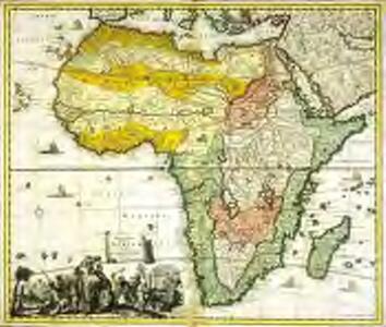 Accuratissima totius Africæ tabula