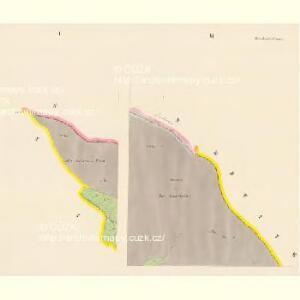 Hirschenstand - c2818-2-001 - Kaiserpflichtexemplar der Landkarten des stabilen Katasters