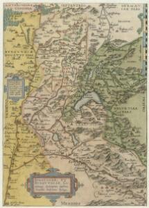 Sabavdiae, Et Bvrgvndiae Comitatus descriptio