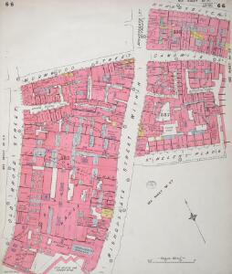Insurance Plan of City of London Vol. III: sheet 66