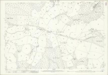 Sussex XLIII.10 (includes: Battle; Brightling; Mountfield; Penhurst) - 25 Inch Map