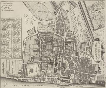 A MAPP of the Parish of St MARGARETS Westminster taken from the last Survey with Corrections 7A