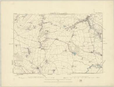 Derbyshire XVIII.NW - OS Six-Inch Map