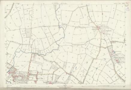 Somerset LXIV.14 (includes: Babcary; Lydford) - 25 Inch Map