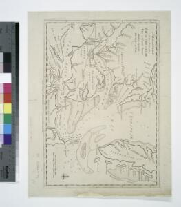 A map and chart of those parts of the Bay of Chesapeak, York and James rivers which are at present the seat of war / Jno. Lodge, sc.