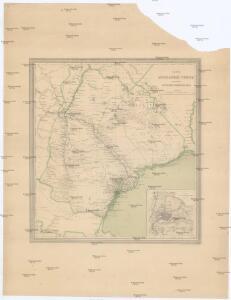 Karta astrachanskoj huberniy so vključeniem' vnutrennej bukeevskoj ord'i