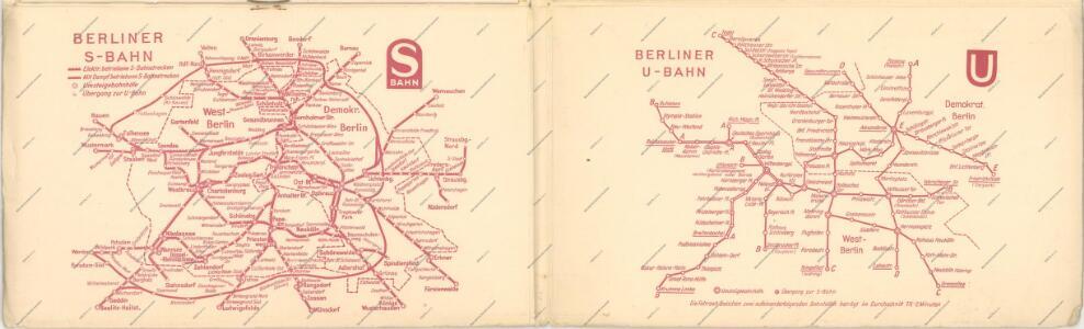 Taschenplan von Berlin