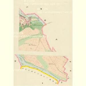 Kozlau (Kozlow) - c3453-1-001 - Kaiserpflichtexemplar der Landkarten des stabilen Katasters