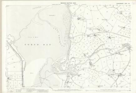Caernarvonshire XV.11 (includes: Llandwrog; Llanfaglan; Llanwnda; Waun Fawr) - 25 Inch Map
