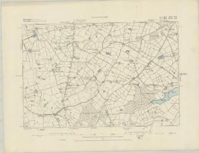 Worcestershire XVI.NE - OS Six-Inch Map