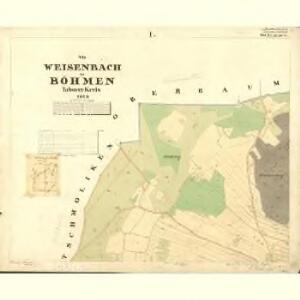 Weisenbach - c0215-2-001 - Kaiserpflichtexemplar der Landkarten des stabilen Katasters