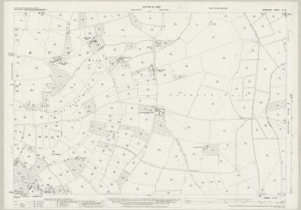 Somerset LII.8 (includes: Glastonbury; West Pennard) - 25 Inch Map