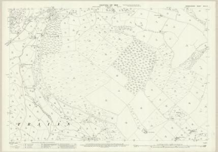 Denbighshire XXXIX.12 (includes: Glyntraean) - 25 Inch Map